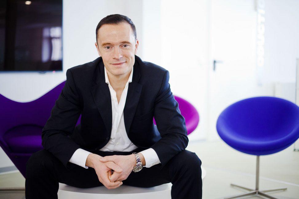 CEO Geschäftsführerportrait von Batimet in Dresden - Businessfotograf Ken Wagner